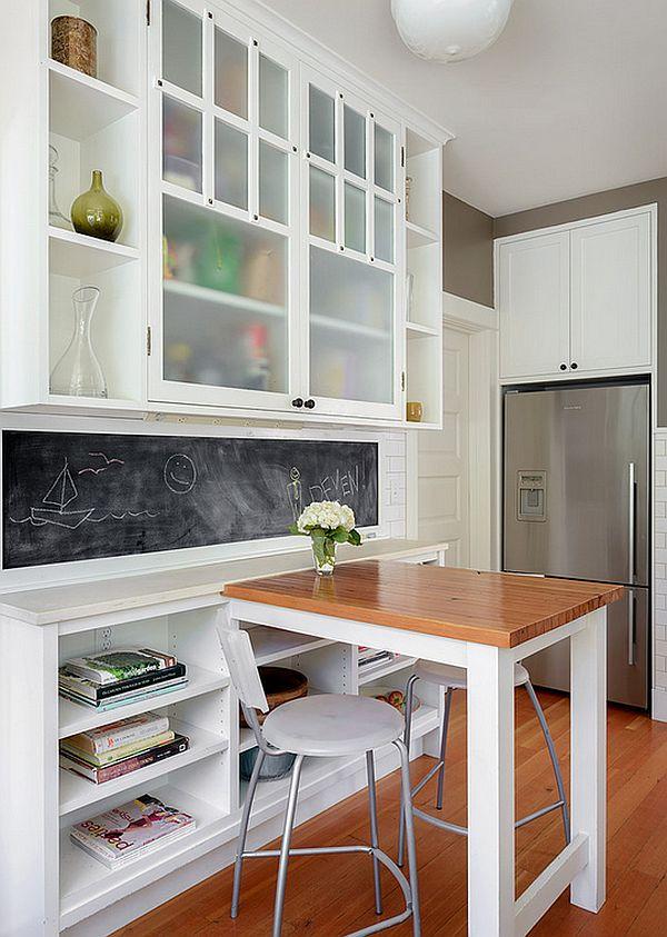 idee petite table cuisine. Black Bedroom Furniture Sets. Home Design Ideas