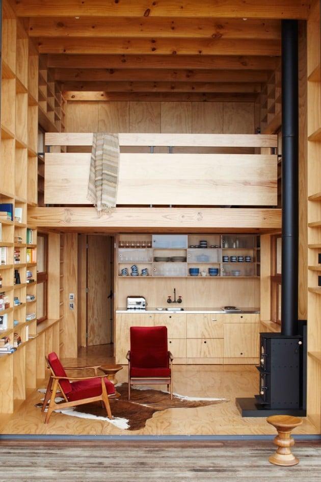 interieur cabane bois. Black Bedroom Furniture Sets. Home Design Ideas