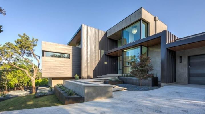Maison contemporaine sign e dick clark associates - Maison contemporaine dick clark architecture ...