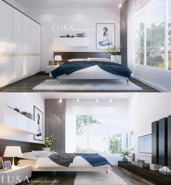 Idées Décoration chambres à coucher modernes
