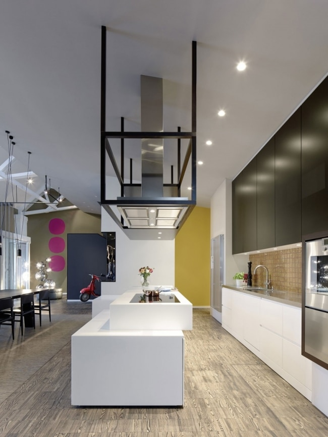 Idee deco cuisine loft for Article decoration cuisine