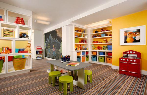 Z Classroom Design : Idées décoration de salles jeux pour enfants