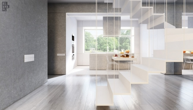 idee decoration salle manger contemporaine 2. Black Bedroom Furniture Sets. Home Design Ideas