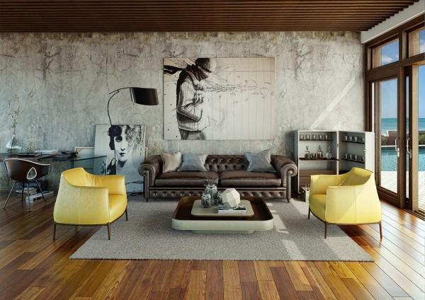 21 id es pour d corer votre salon for Idee deco urbain