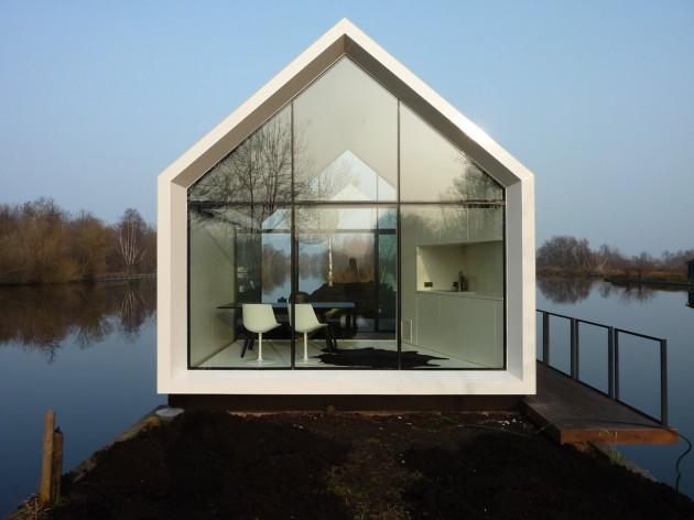 Petite maison de vacances modulaire design - Maison de vacances christopher design ...