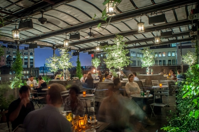 Les 50 meilleurs bars rooftop new york for Bar americano nyc