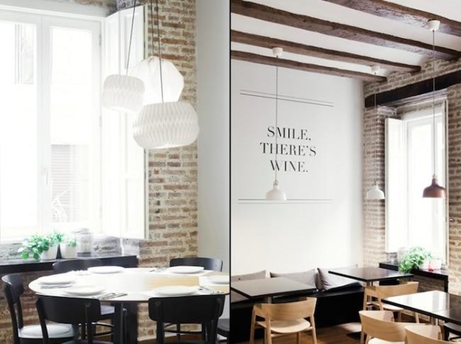 D coration d 39 un restaurant avec un style scandinave - Cuisine style scandinave ...