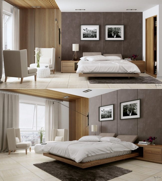 22 id es de d coration pour une chambre d 39 adulte. Black Bedroom Furniture Sets. Home Design Ideas