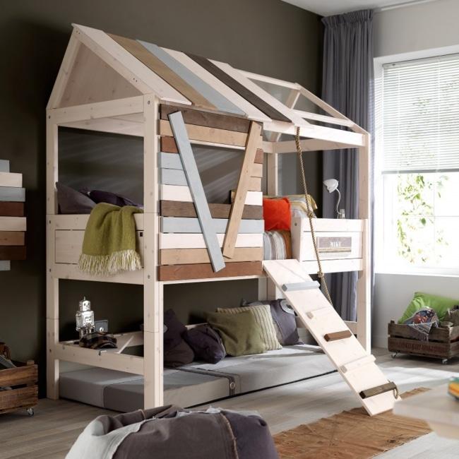 lits originaux pour la chambre de vos enfants. Black Bedroom Furniture Sets. Home Design Ideas