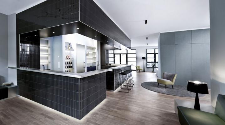 Id es d co loft design avec ascenseur pour voiture for Loft contemporain