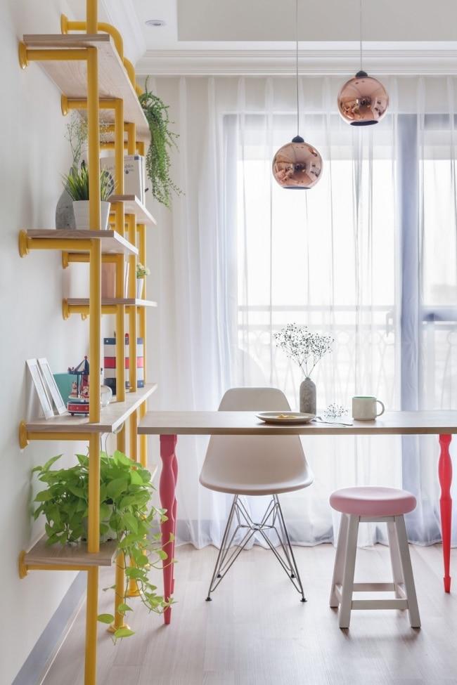 wonderland appartement d coration pastels et acidul es. Black Bedroom Furniture Sets. Home Design Ideas