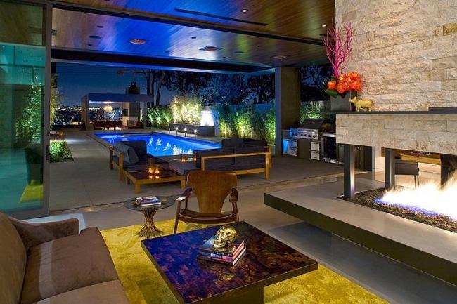 Salon maison moderne architecte for Salon maison moderne