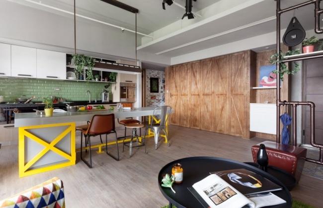 appartement-vintage-scandinave