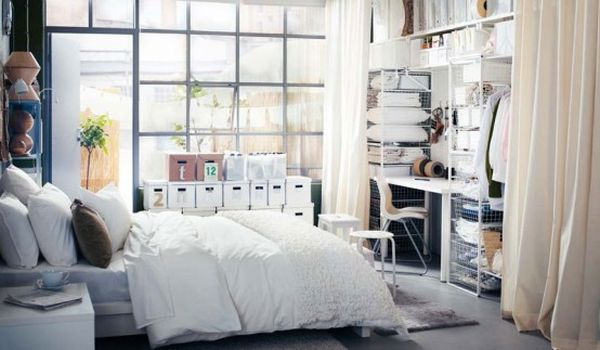 chambre-ikea-loft