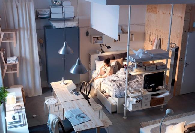 chambre-ikea-petit-appartement