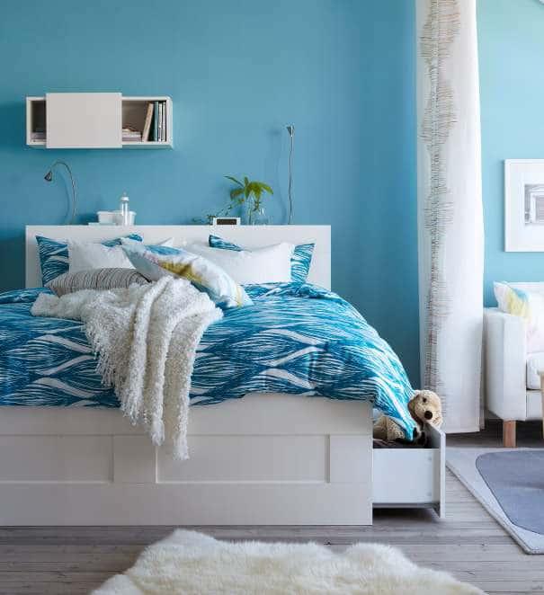 deco-chambre-ikea-murs-bleus