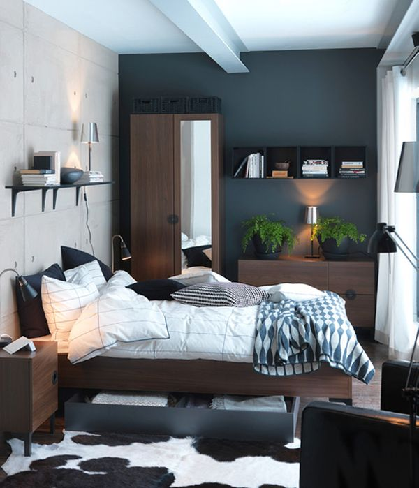 deco chambre sombre ikea. Black Bedroom Furniture Sets. Home Design Ideas