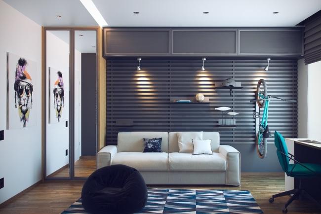 Idées pour décorer et aménager une chambre d\'adolescent