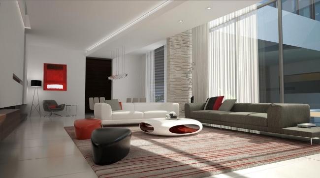 Idee decoration salon futuriste for Idees pour decorer salon