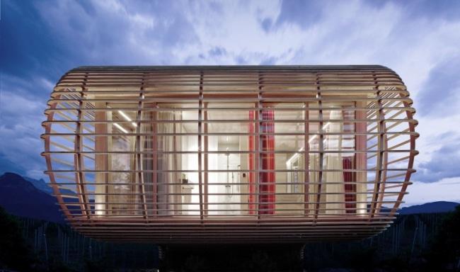 Maison bois ecologique for Maison modulaire ecologique