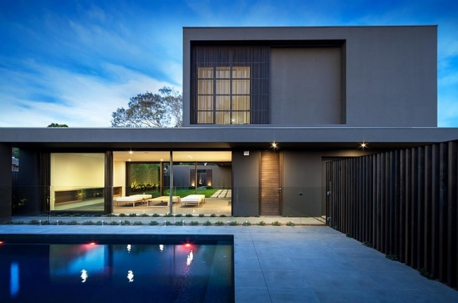 Maison contemporaine melbourne avec piscine - Deco maison moderne fw house par dphs architects ...