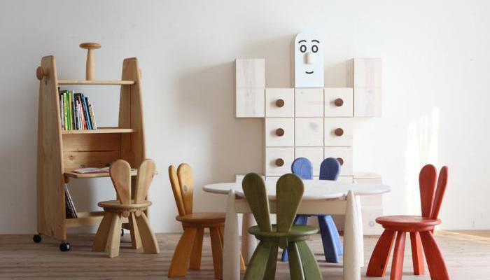 meubles japonais design en bois pour enfants. Black Bedroom Furniture Sets. Home Design Ideas