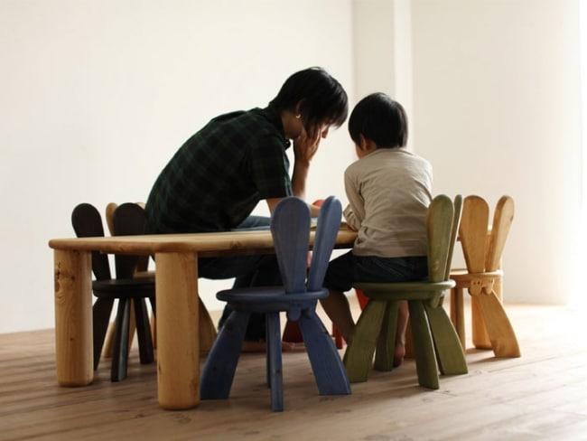Meubles japonais design en bois pour enfants for Meuble japonais zen