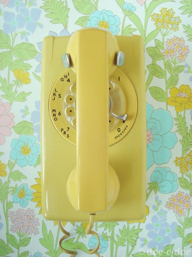 telephone-mural-vintage-retro-annees50-60
