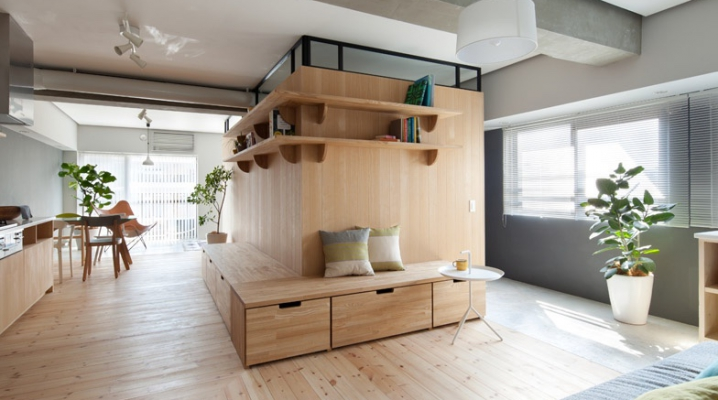 d coration de deux appartement minimalistes japonais. Black Bedroom Furniture Sets. Home Design Ideas