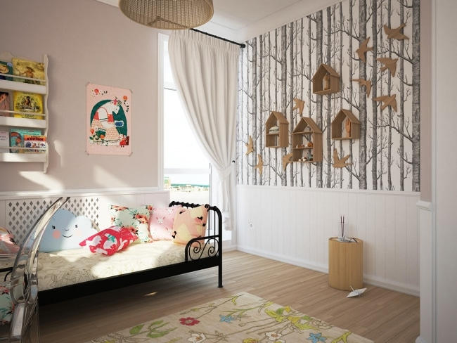 Id e d co chambres d 39 enfant de fajno design for Theme deco maison