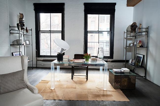 idee deco bureau industriel 05. Black Bedroom Furniture Sets. Home Design Ideas