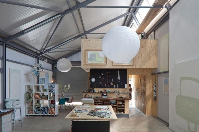 idee deco bureau industriel 14. Black Bedroom Furniture Sets. Home Design Ideas