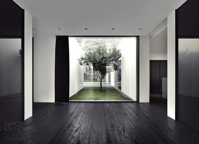 Id es d coration interieur en noir et blanc for Pramierte einfamilienhauser