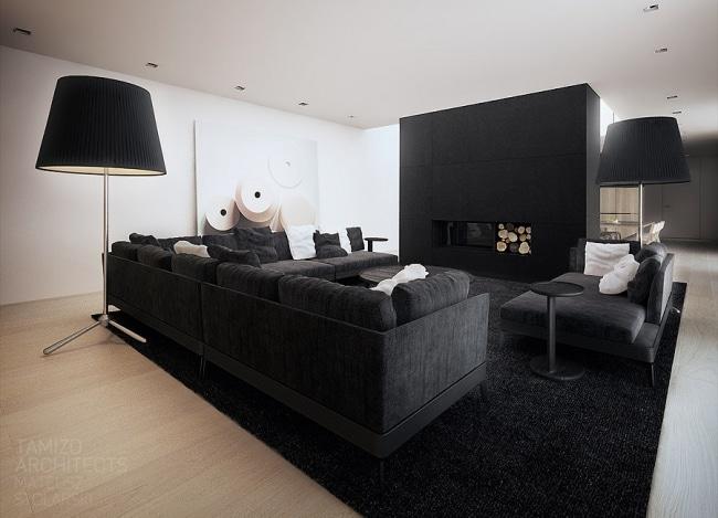 Idées Décoration Interieur En Noir Et Blanc