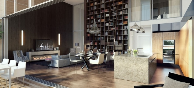 Idee decoration salon loft - Idee deco salon design ...