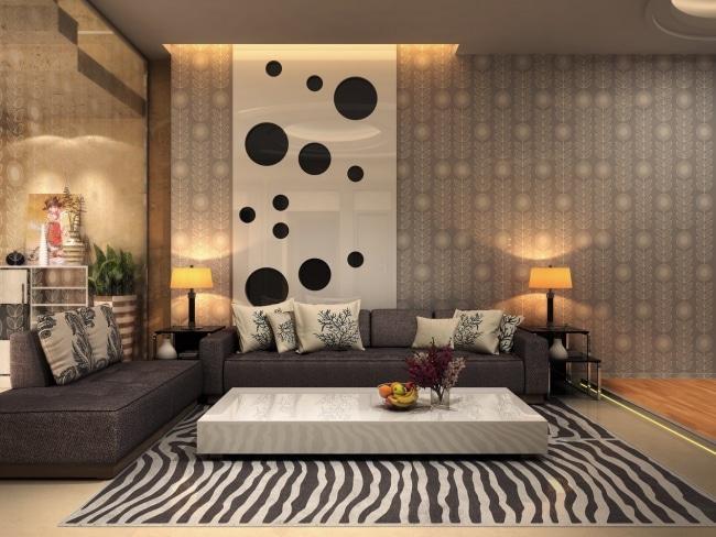 idee,decoration,salon,tapis,zebre