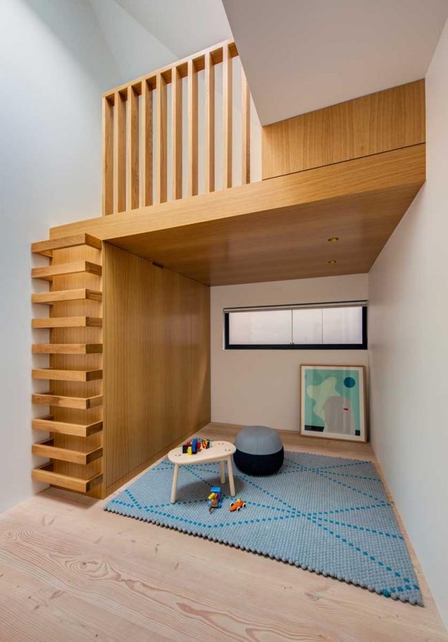 petite mezzanine bois. Black Bedroom Furniture Sets. Home Design Ideas