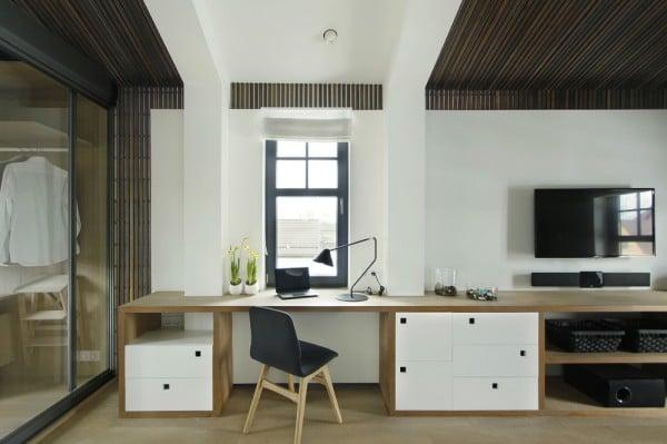 id es pour d corer et am nager un coin bureau la maison. Black Bedroom Furniture Sets. Home Design Ideas