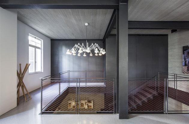 cage escalier loft. Black Bedroom Furniture Sets. Home Design Ideas
