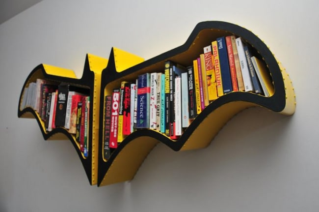 d coration de chambres pour enfants sur le th me de batman. Black Bedroom Furniture Sets. Home Design Ideas