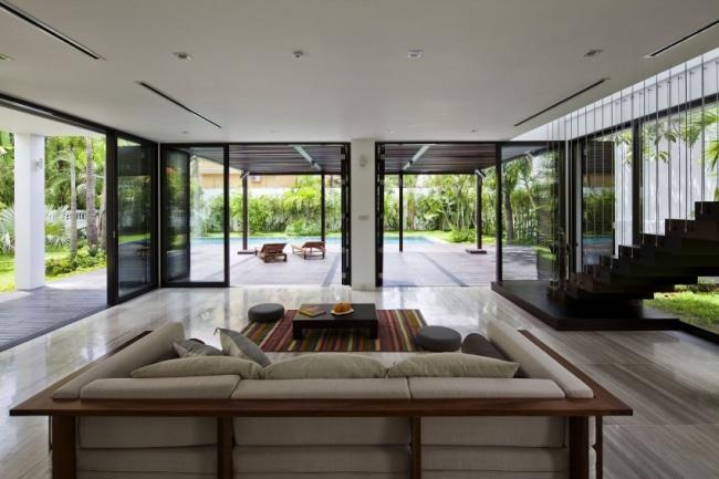 interieur villa design brasseriedb