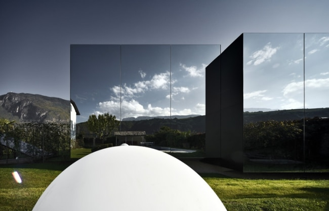 Maison miroir de peter pichler architecture - Maison car park los angeles anonymous architects ...