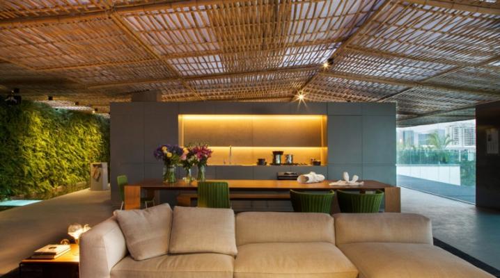 D coration d 39 un loft au style tropical - La maison tempo au bresil par gisele taranto ...