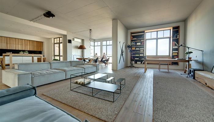 D coration d 39 un appartement chic et minimaliste for Deco appartement chic