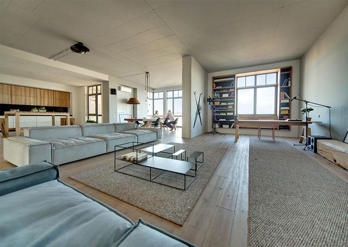 D coration d 39 un appartement chic et minimaliste - Decoration interieur appartement minimliste kiev ...