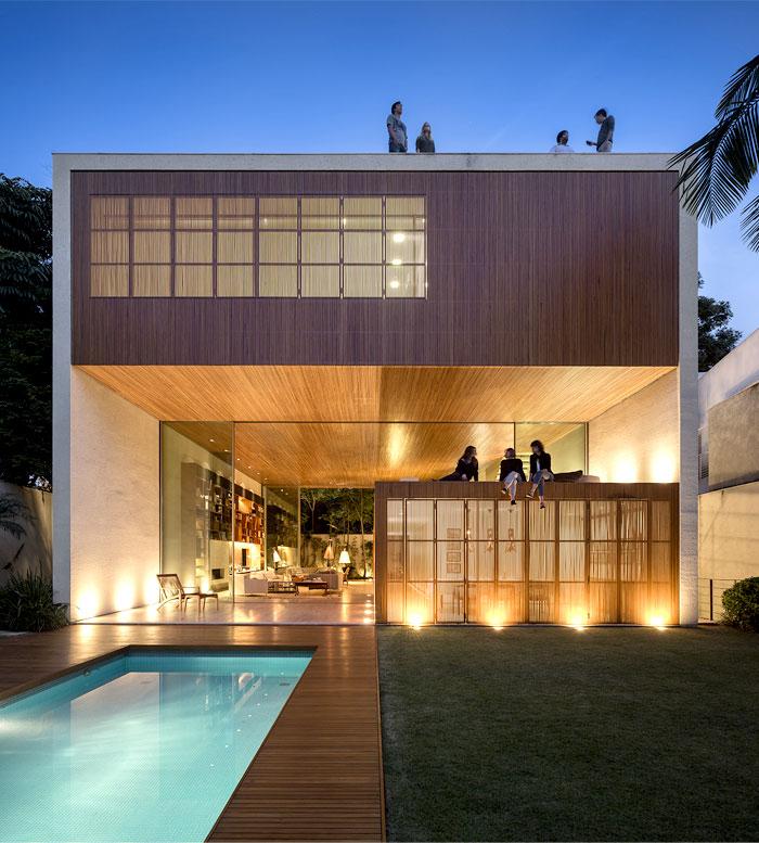 maison cube avec piscine. Black Bedroom Furniture Sets. Home Design Ideas