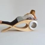 Chaise design stephane leathead