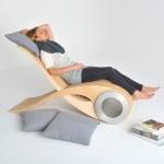 Chaise longue design ergonomique