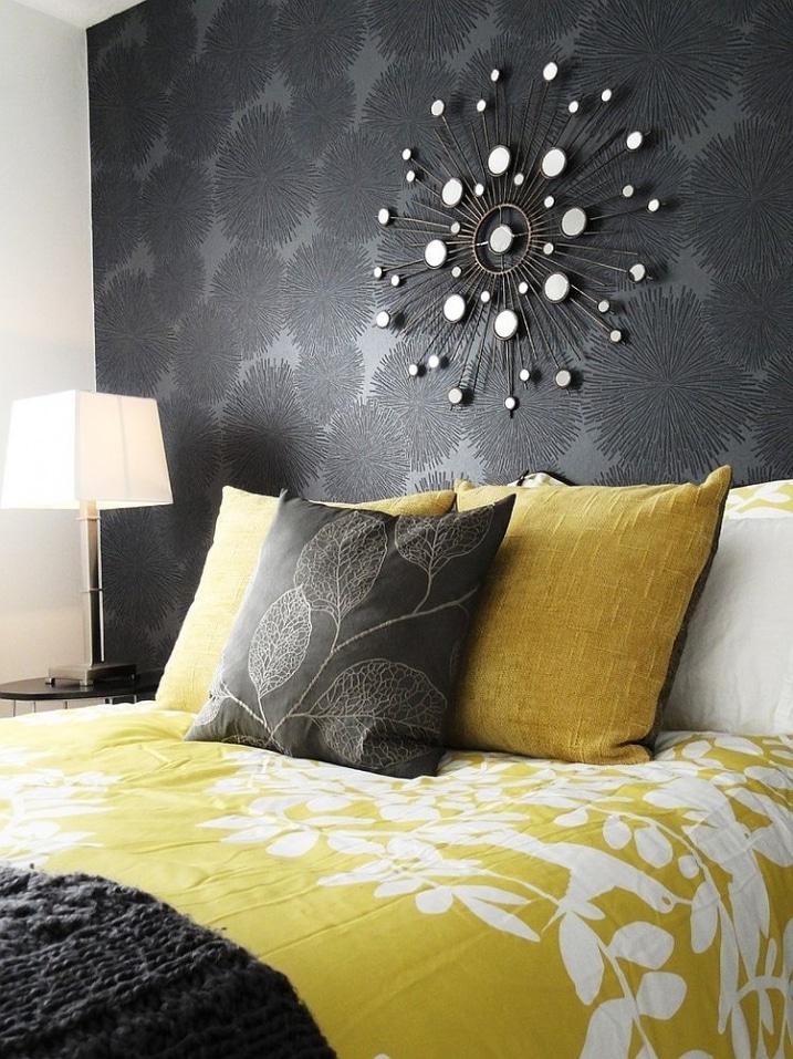 gris-et-jaune-pour-lit
