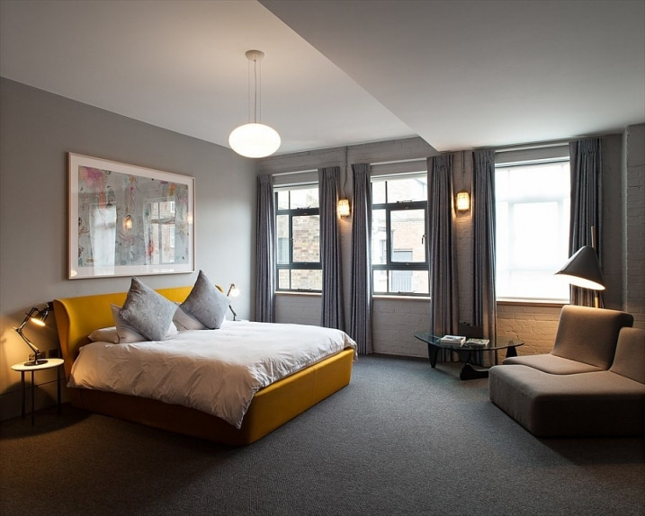 Id es d co pour une chambre jaune et grise for Quel radiateur pour une chambre